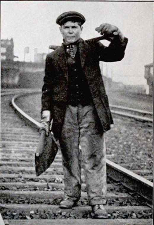 Irish Railroad Worker