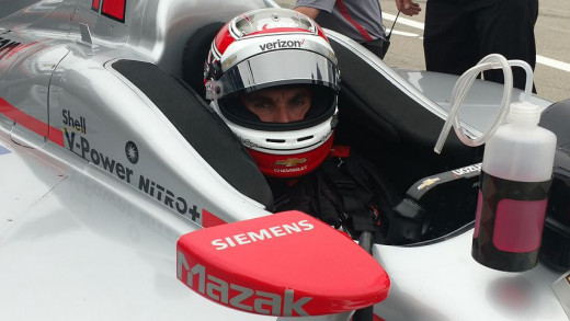Indycar driver Will Power