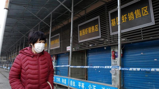 In January 2020 the vastly popular seafood and animal market in Wuhan was closed by Chinese health authorities.