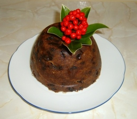British Christmas Pudding