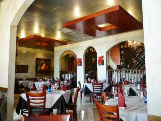 Interior of this restaurant