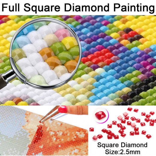 diamond painting square drills