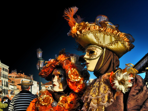 Two ladies in Venice