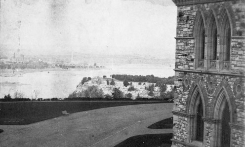Nepean Point from Parliament Hill