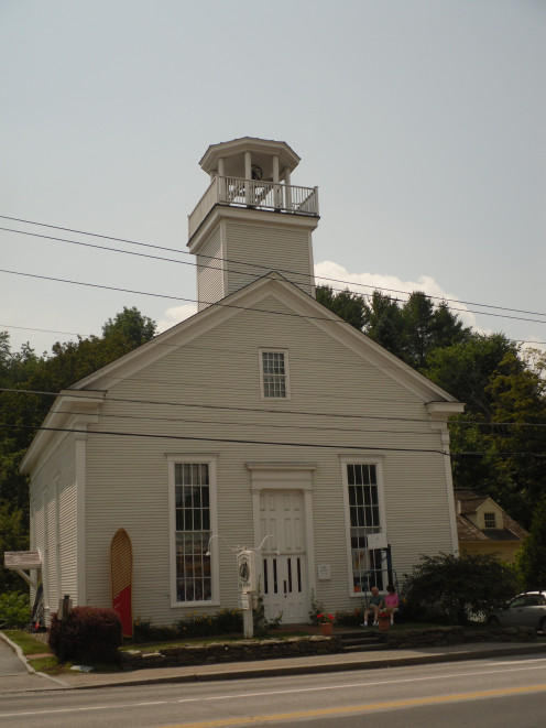 The Perkins Building, Home of the Vermont Ski and Snowboard Museum