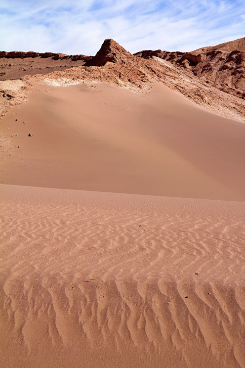The Atacama Desert in the country of Chile where the band Critical Defiance is from.