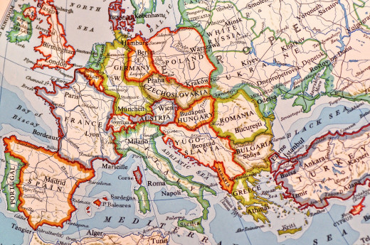Europe is one of the top tourist destinations in the world.