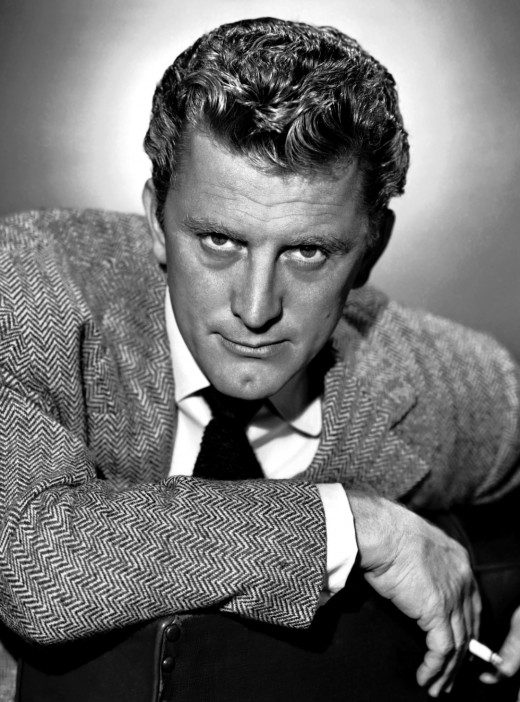 Kirk Douglas: By Unknown photographer - eBay , seller Old Brass Antiques, Public Domain, https://commons.wikimedia.org/w/index.php?curid=20325755