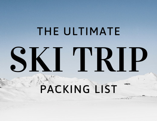 Start planning your next ski trip with the ultimate ski trip packing list.