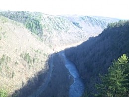 View from the West Rim (Easter 2009)