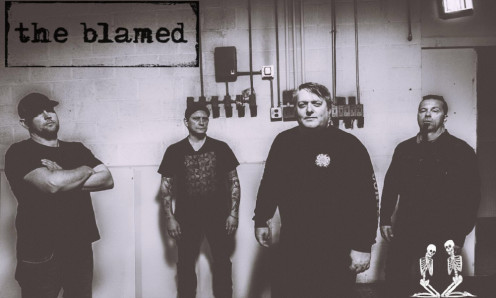 The Blamed. Bryan Gray, front