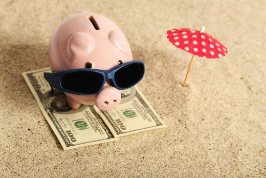How much did you get from a vacation loan depends on your past loans and your ability to pay it back.