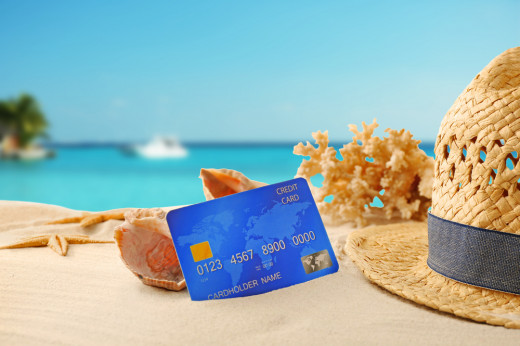 A credit card also can finance your vacation, but...