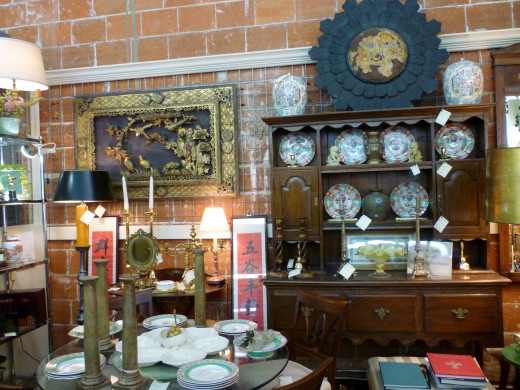 AG Antiques on West 19th in the Houston Heights
