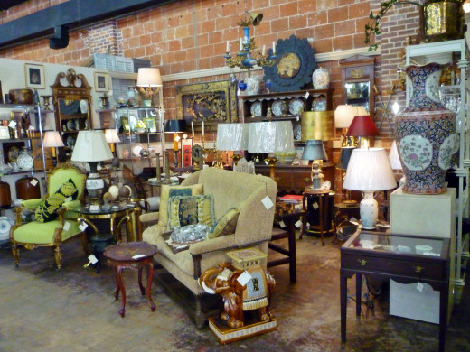 Much to discover at this antique store!
