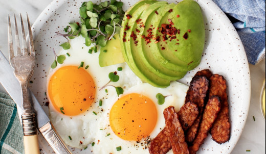 Trading starchy and sugary empty calories for nutrient-dense, high-fat foods is an excellent move for your immune system and overall wellbeing.