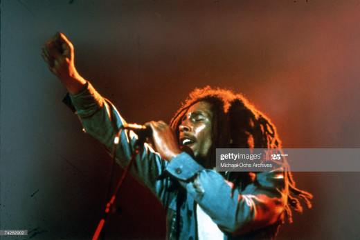 While apartheid and slavery flourished, Bob Marley's compelling and  powerful lyrics made him an Icon with the Jamaican youth and so many others.'Get up stand Up, Stand Up For your right' became the foreword for a new life itself!!!
