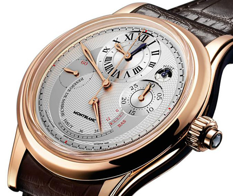 Montblanc Villeret Grande Chronograph Regulator Watch