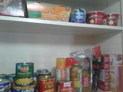 A small stockpile
