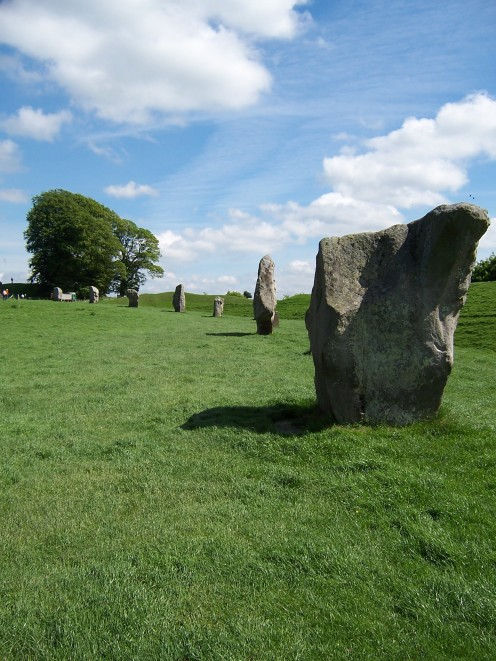 Copyright(C)KCC Big Country-Avebury Stones taken in 2006