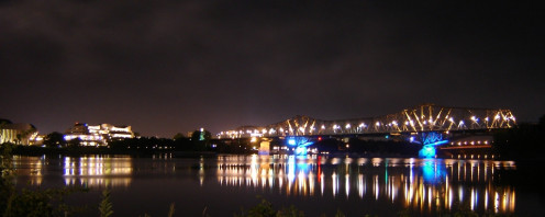 The Ottawa River at night - Skyglow in Ottawa-Gatineau