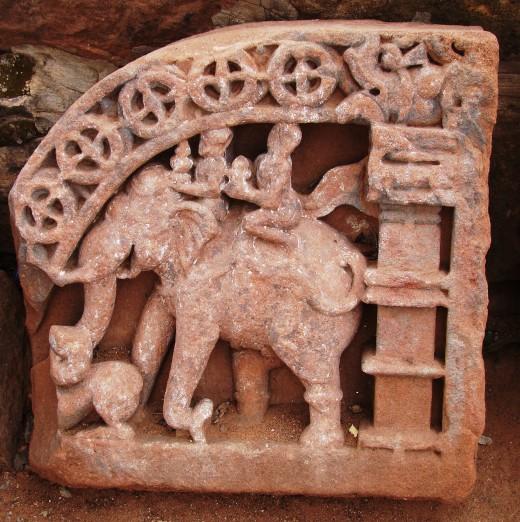 From Siddhanath temple, Omkareswar, Madhya Pradesh, India.