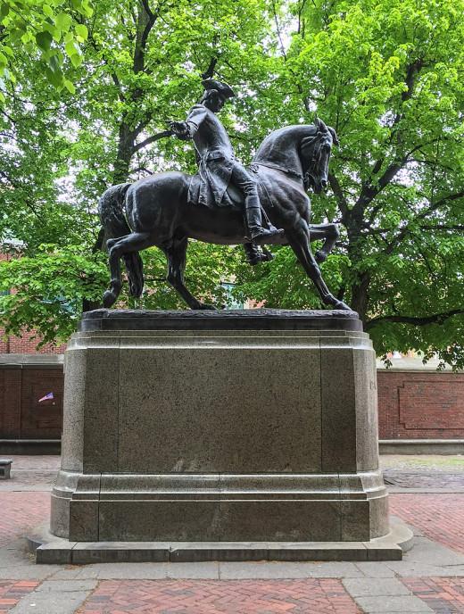 Statue of Revere