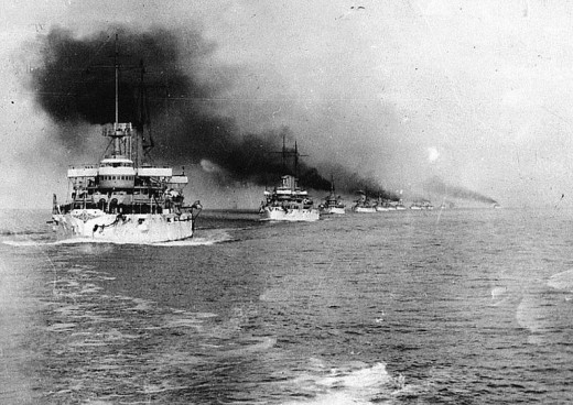 The Great White fleet saw 16 American battleships cruise around the world under the administration of Teddy Roosevelt.