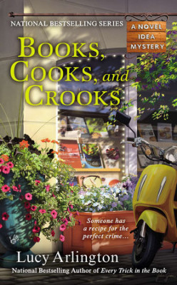 Book Review: Book, Cooks, and Crooks by Lucy Arlington