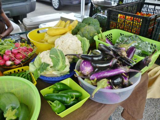 Farmers Market in Katy produce