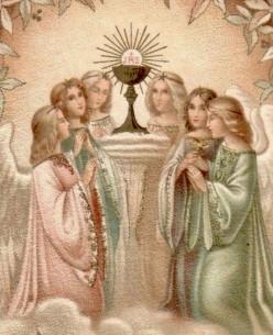 On Spiritual Communion . . .