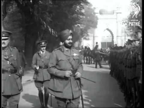 maharajah in London 1921