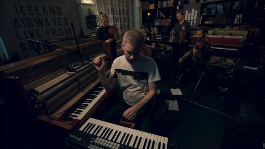 Ólafur Arnalds live in concert