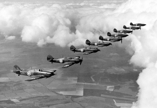 Although not as great of a triumph as the German win, the Battle of Britain enabled the British to survive and continue the war against the Germans.