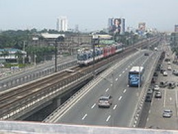 www.wikipedia.com the MRT is on the leftmost side of the picture