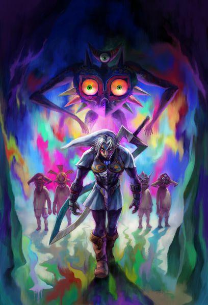 Link as his Fierce Deity form!