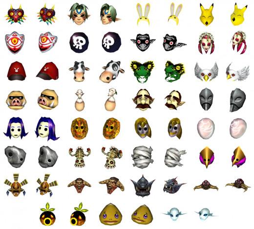All 24 masks.