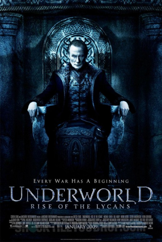 Rise Of The Lycans - A prequel to the other Underworld films.