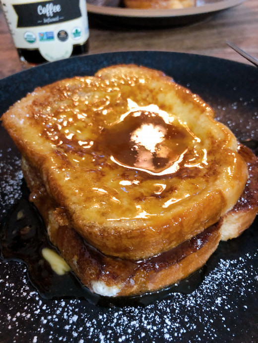I definitely love using ghee in the french toast. It gives extra rich flavor in the bread.