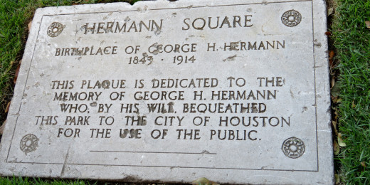 Hermann Square Plaque