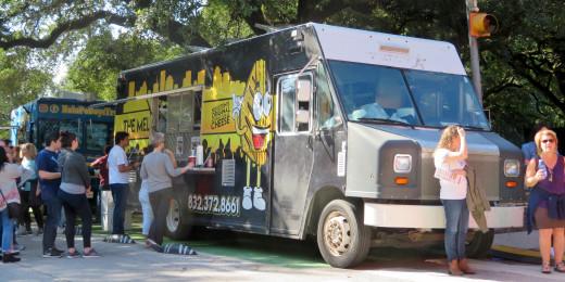 Food Trucks at the Bayou City Art Festival