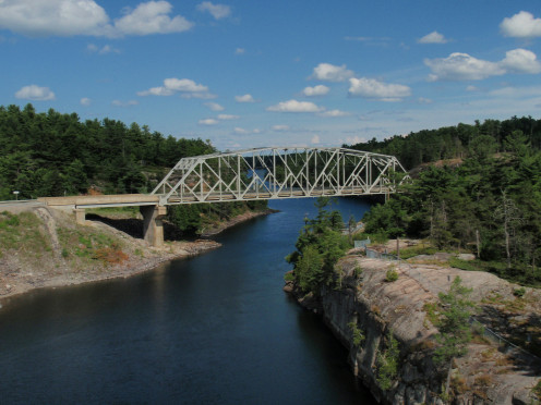 French River, Ontario near Subury