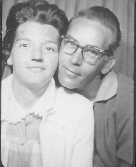Mom and Dad - Many moons before me.