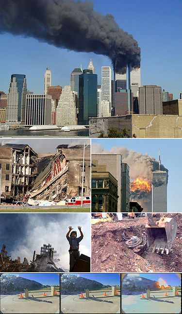New York City Twin Towers 9-1-1