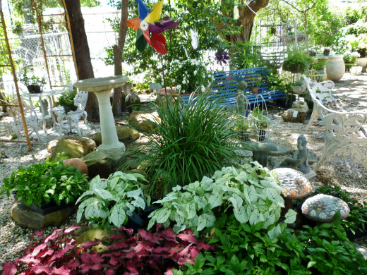 Garden landscaping items for sale