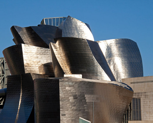 The Bilbao Guggenheim Museum, the setting for much of Origin, is definitely a much more unconventional and interesting place than any of Dan Brown's fiction.