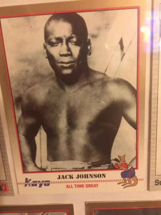 Jack Johnson ruled the heavyweight division from 1908-1915.