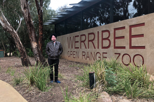 Me @Werribee open Range ZOO