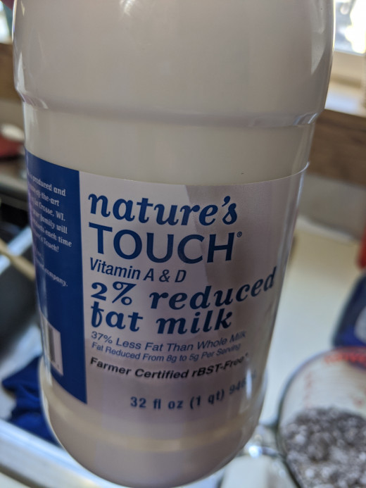 Add a couple tablespoons milk