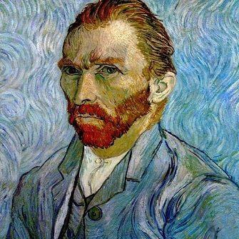 Van Gogh self-portrait example